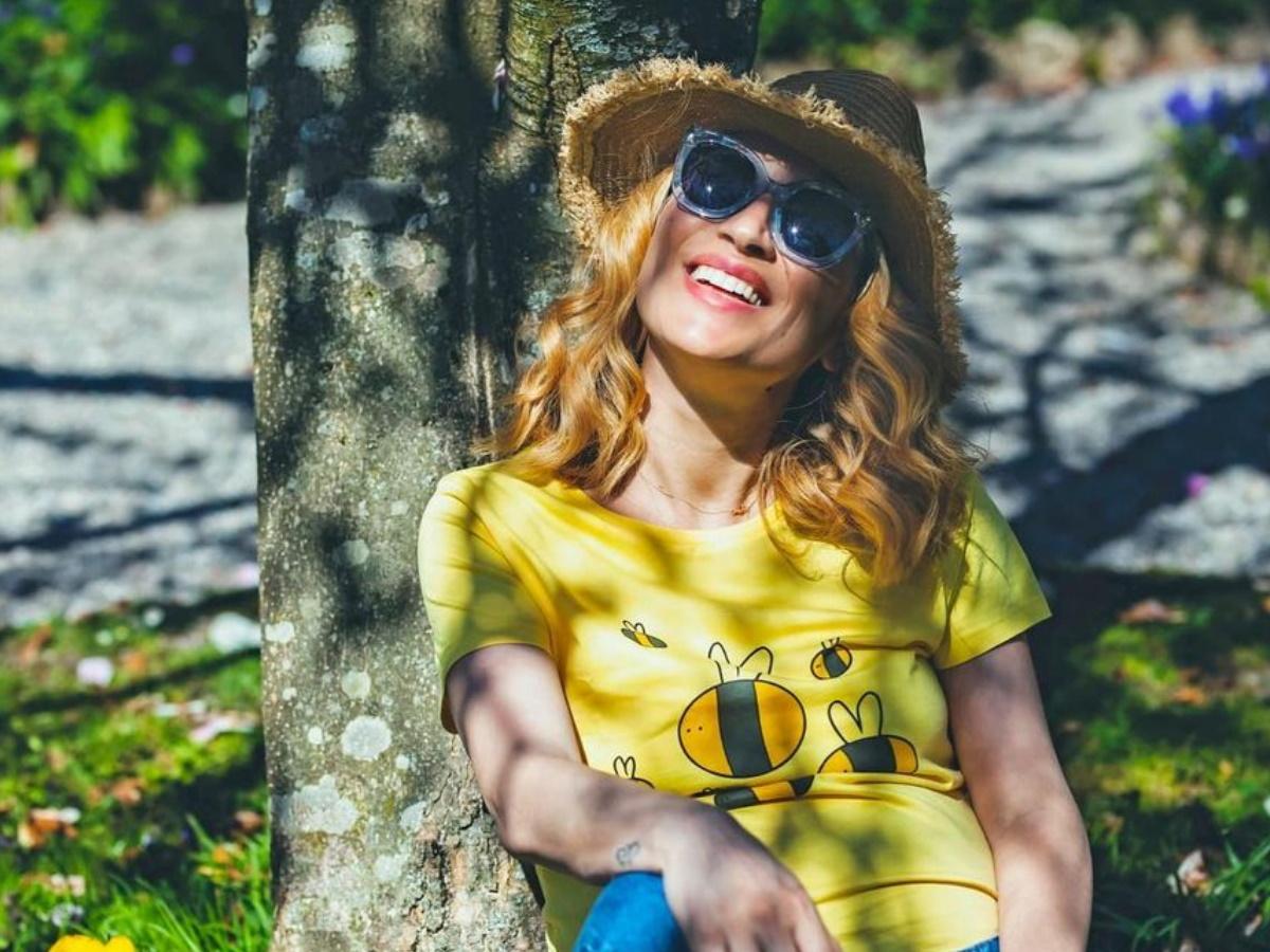 Μαρία Ηλιάκη: Η πρώτη βόλτα στην Ελβετία με τη 16 ημερών κόρη της