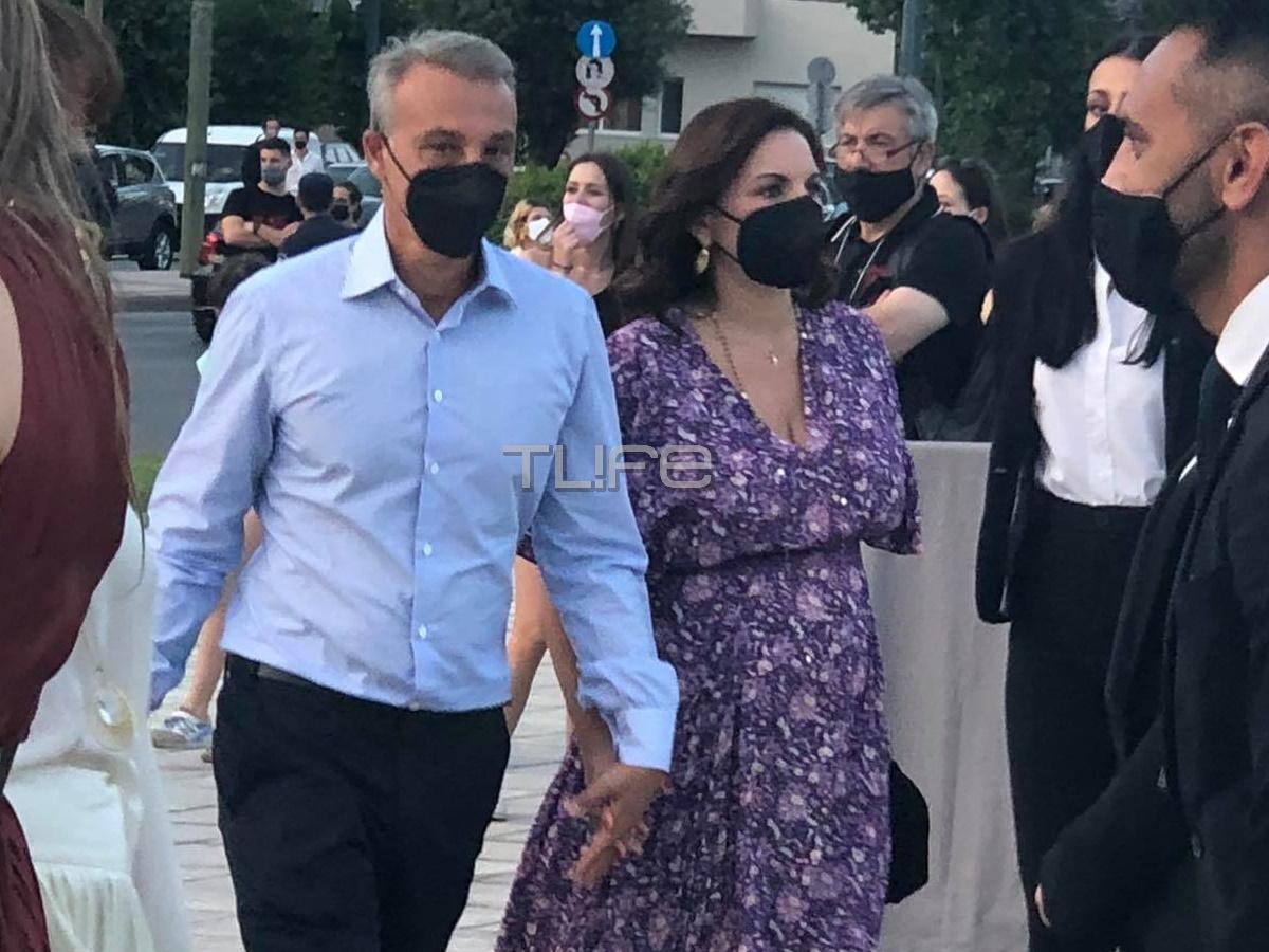 Όλγα Κεφαλογιάννη – Μίνως Μάτσας: Στην επίδειξη του Dior, πιασμένοι χέρι-χέρι