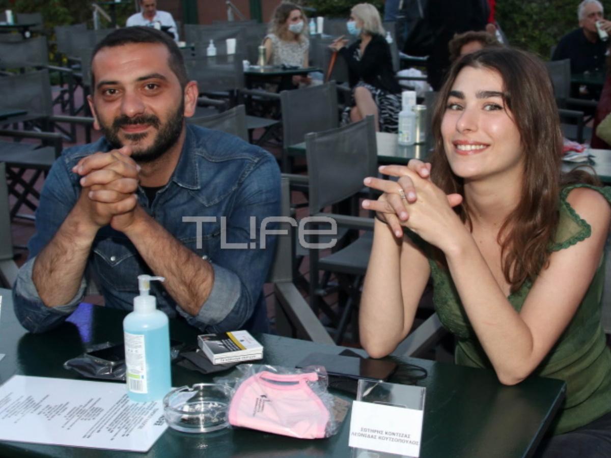 Λεωνίδας Κουτσόπουλος: Η πρώτη τηλεοπτική εμφάνιση με τη σύντροφό του, Χρύσα Μιχαλοπούλου