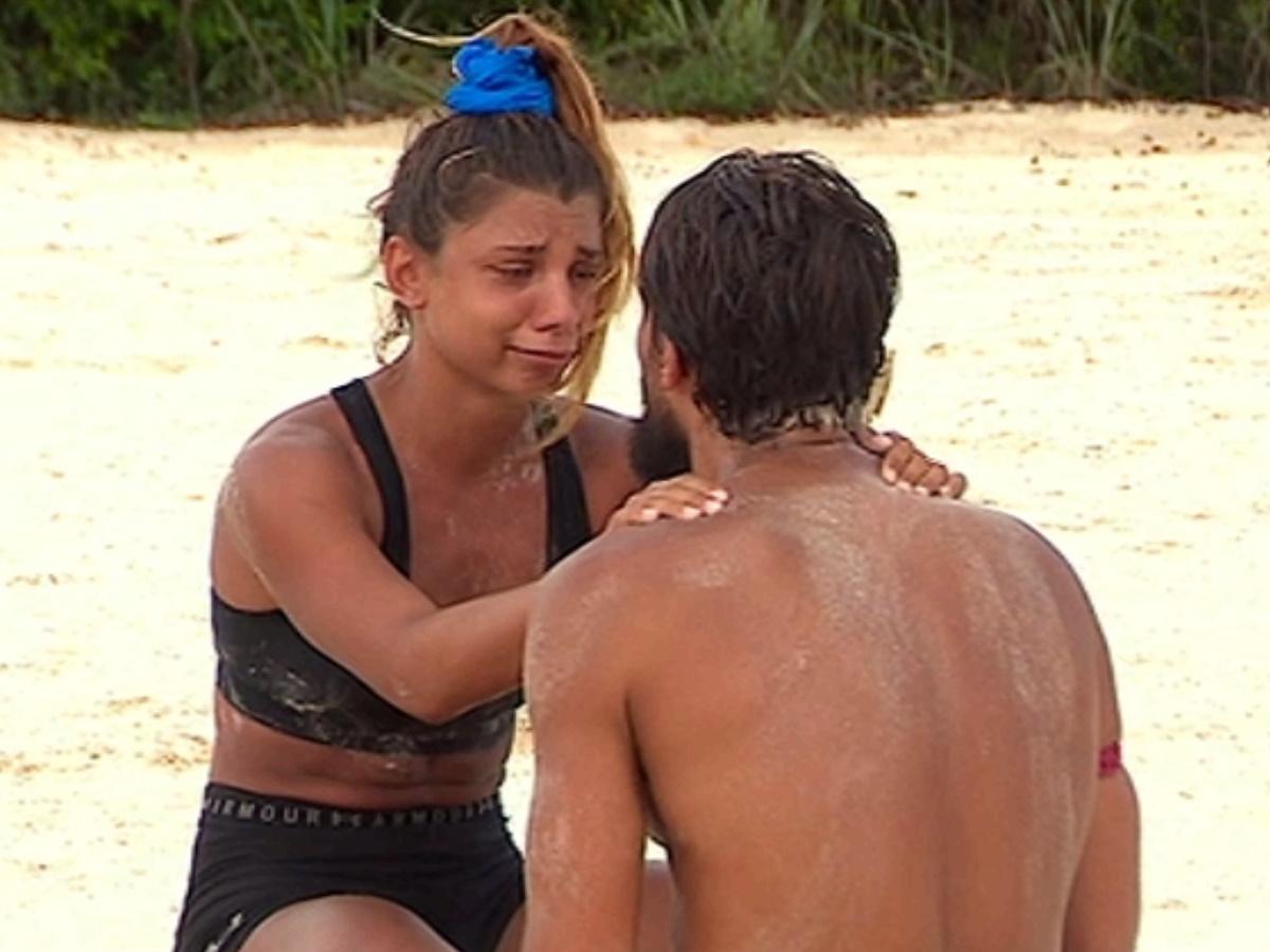 "Survivor – Ο Σάκης Κατσούλης κάνει ερωτική εξομολόγηση στην Μαριαλένα Ρουμελιώτη: ""Είσαι όλη μου η ζωή"""