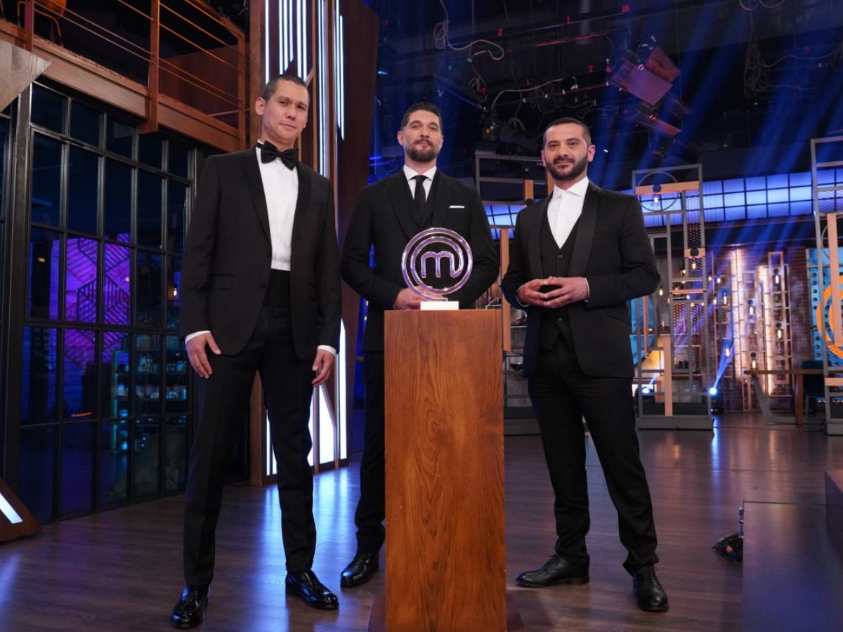 MasterChef – Τελικός: Δες τι έκαναν οι τρεις κριτές στα παρασκήνια