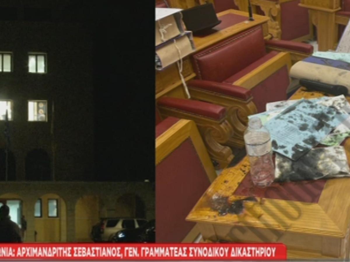 """Μονή Πετράκη: Ανατριχιαστική μαρτυρία του αρχιμανδρίτη Σεβαστιανού: """"Τα ράσα έλιωσαν, έγιναν κουρέλια"""""""
