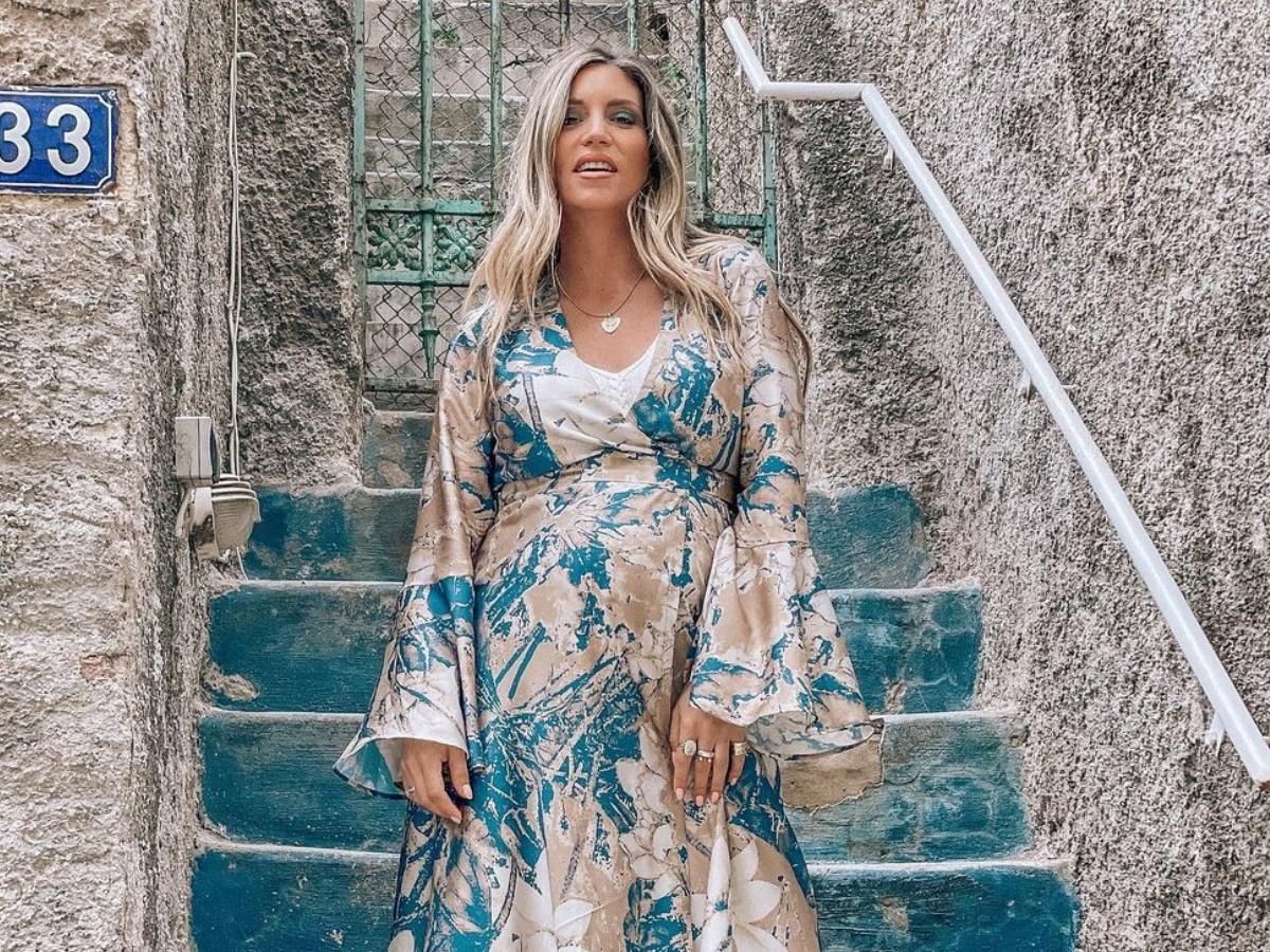 Aθηνά Οικονομάκου: Η πρώτη της οικογενειακή βόλτα με τον σύζυγο και τα δυο τους παιδιά