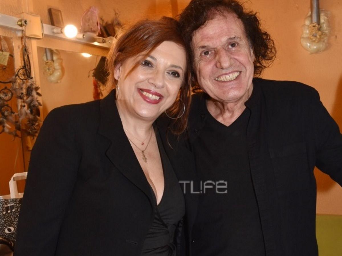 Ελένη Ράντου: Συγκινημένη στην πρώτη συναυλία του Βασίλη Παπακωνσταντίνου