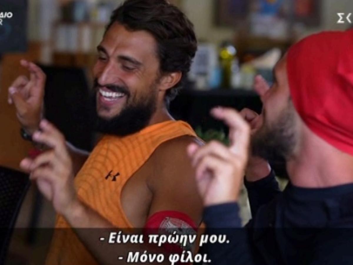 """Survivor – Σάκης Κατσούλης: """"Mε την Μαριαλένα είμαστε… μόνο φίλοι"""""""