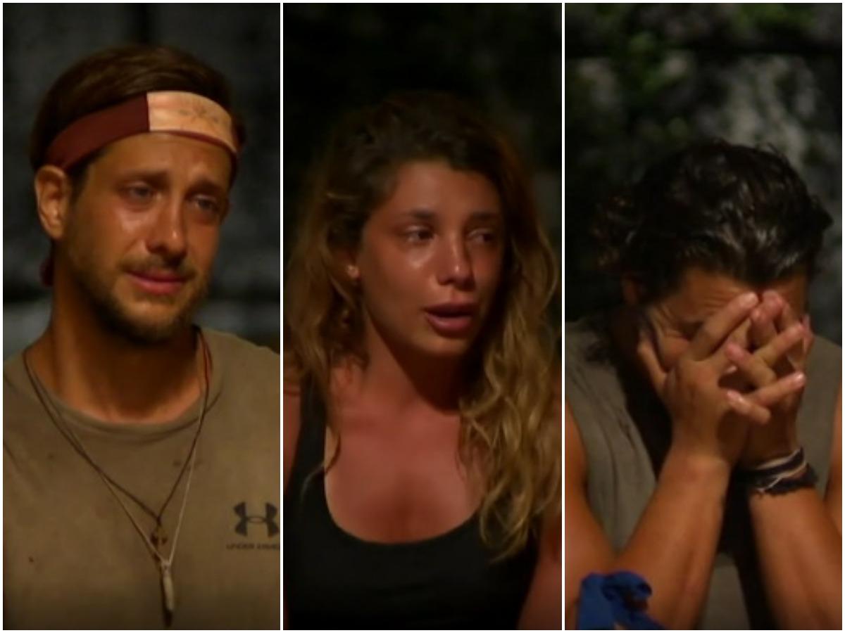 Survivor: Καταρρέουν Ηλίας Μπόγδανος, Μαριαλένα Ρουμελιώτη και Γιώργος Ασημακόπουλος – Οι συγκλονιστικές εξομολογήσεις