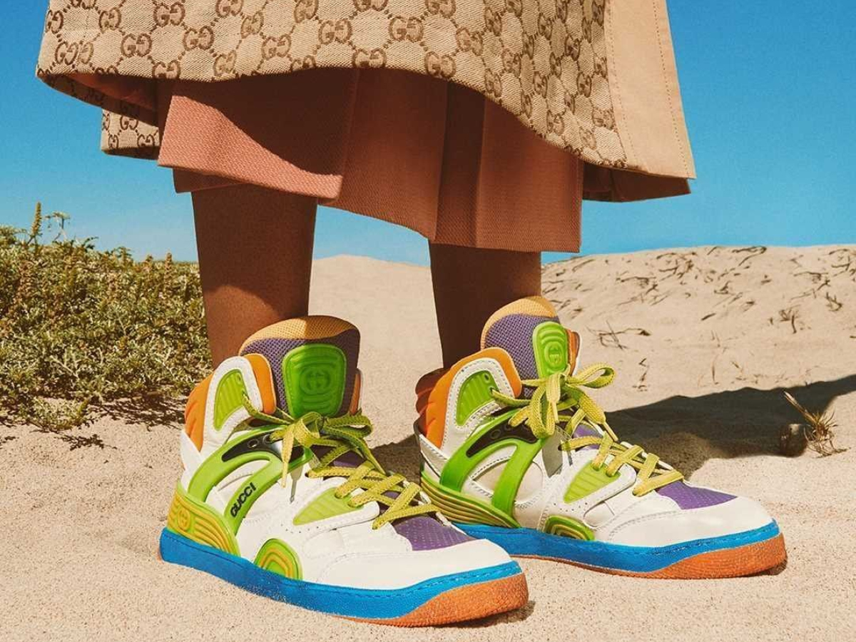 H Gucci κυκλοφόρησε vegan παπούτσια