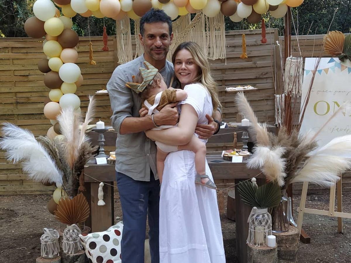Γιώργος Χρανιώτης – Γεωργία Αβασκαντήρα: Γιόρτασαν τα πρώτα γενέθλια του γιου τους