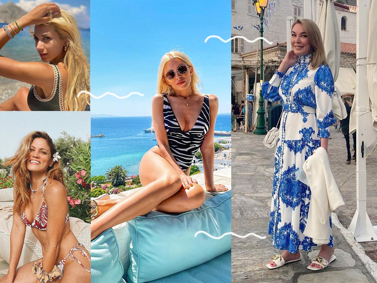 Οι κυρίες της showbiz μόνο με το μαγιό τους – Οι καλοκαιρινές εμφανίσεις που ξεχώρισαν