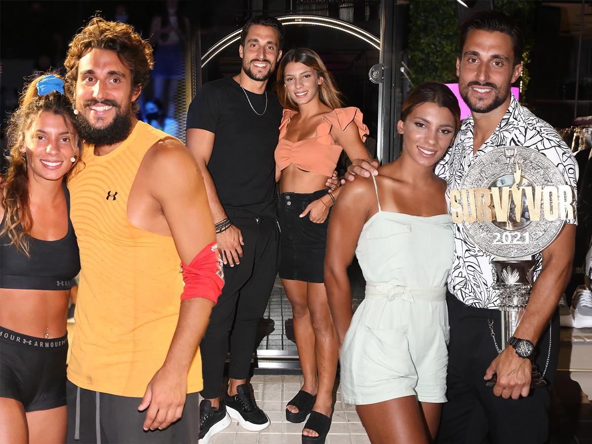 Σάκης Κατσούλης – Μαριαλένα Ρουμελιώτη: Πόσο έχουν αλλάξει οι ζωές τους 12 ημέρες μετά από τον τελικό του Survivor