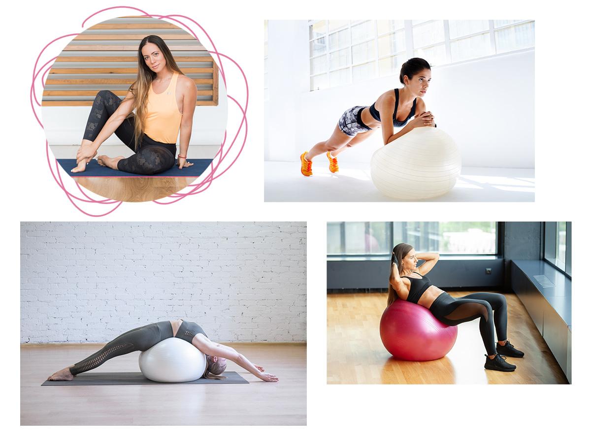 Γυμναστική με μία μπάλα Pilates: Ακολούθησε την Μάντη Περσάκη και γύμνασε όλο σου το σώμα