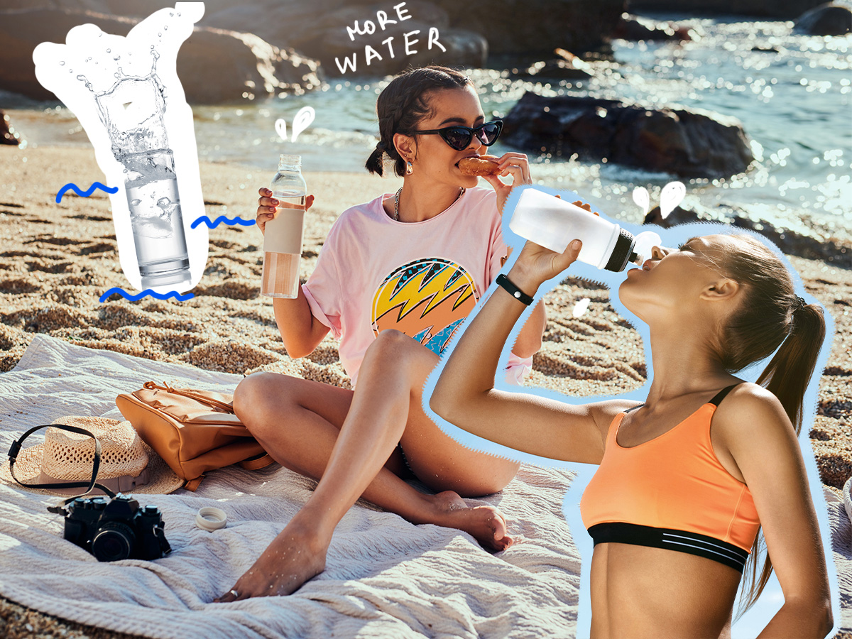 7 τρόποι να πίνεις περισσότερο νερό το καλοκαίρι