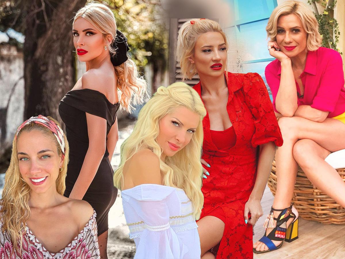 Οι παρουσιάστριες της εγχώριας showbiz ποζάρουν χωρίς φίλτρα και μακιγιάζ και είναι εντυπωσιακές