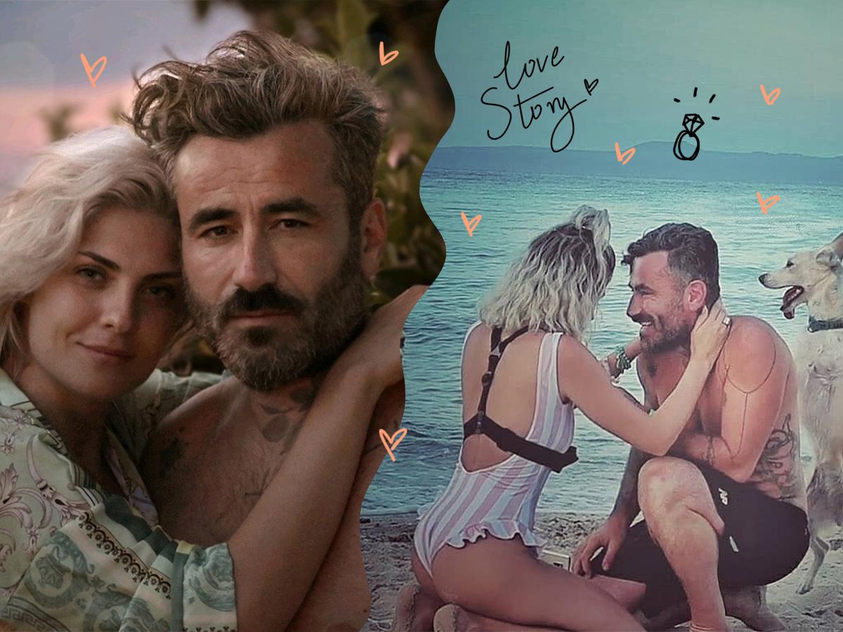 Γιώργος Μαυρίδης – Κρίστη Καθάργια: Το love story του ζευγαριού έναν χρόνο μετά την απρόβλεπτη πρόταση γάμου