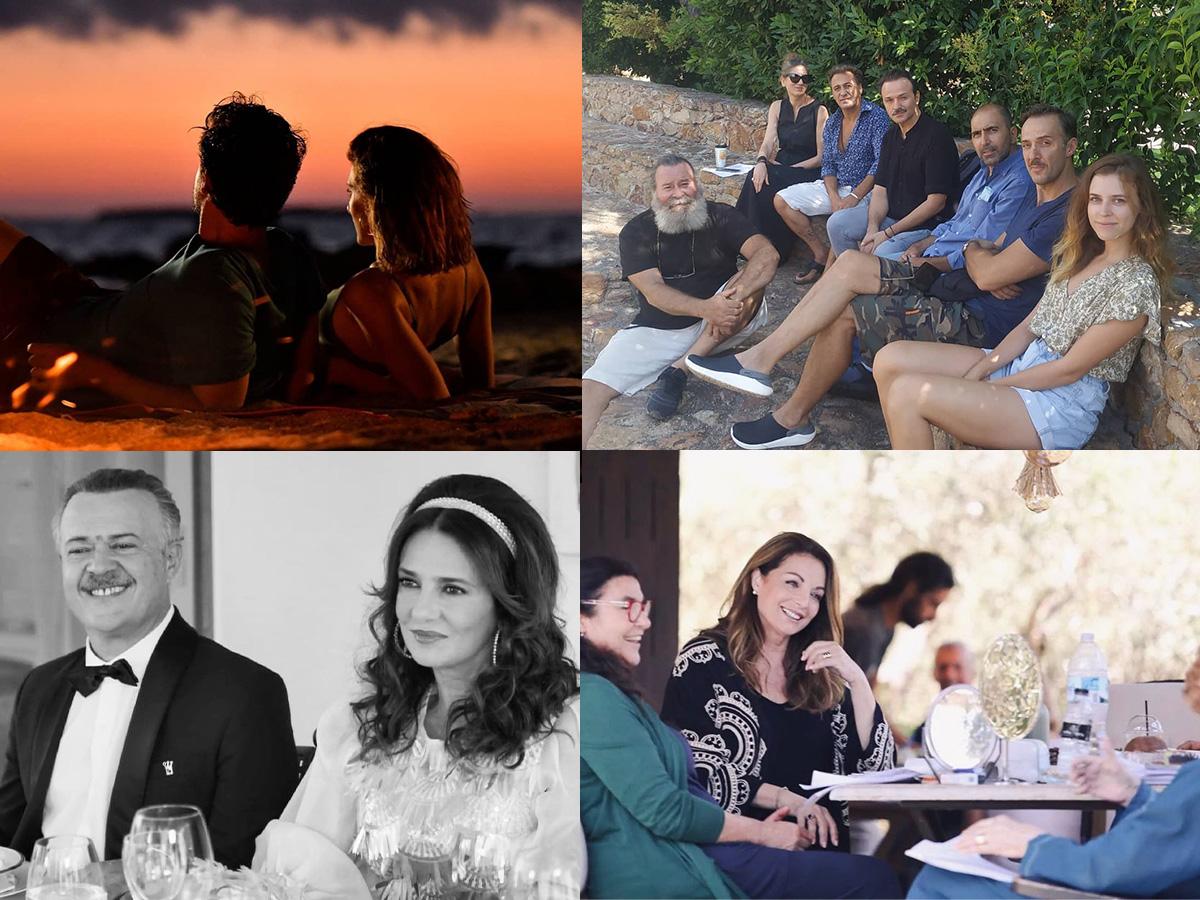Οι Έλληνες ηθοποιοί μας δίνουν μια γεύση από τα γυρίσματα για τις τηλεοπτικές σειρές της νέας σεζόν