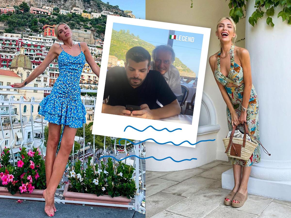 Κατερίνα Καινούργιου – Φίλιππος Τσαγκρίδης: Το φωτογραφικό άλμπουμ από το ταξίδι τους στην Ιταλία
