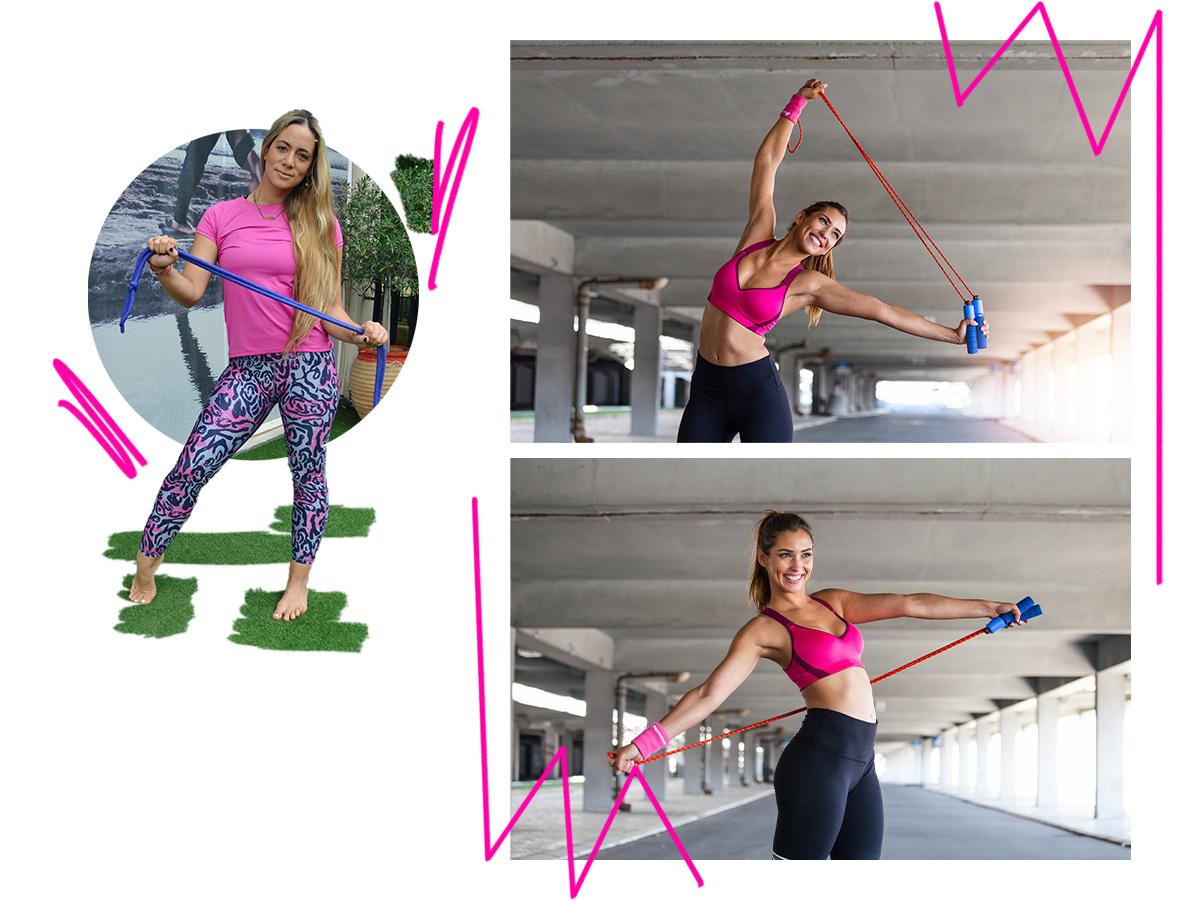 Ας γυμναστούμε μαζί! Ασκήσεις για να γραμμώσεις το σώμα σου πριν φύγεις για διακοπές
