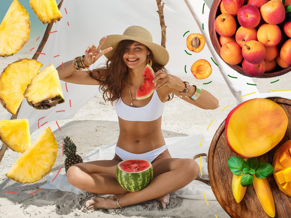 """Καλοκαιρινά φρούτα: Οι θερμίδες που """"κρύβουν"""" ανά μερίδα"""