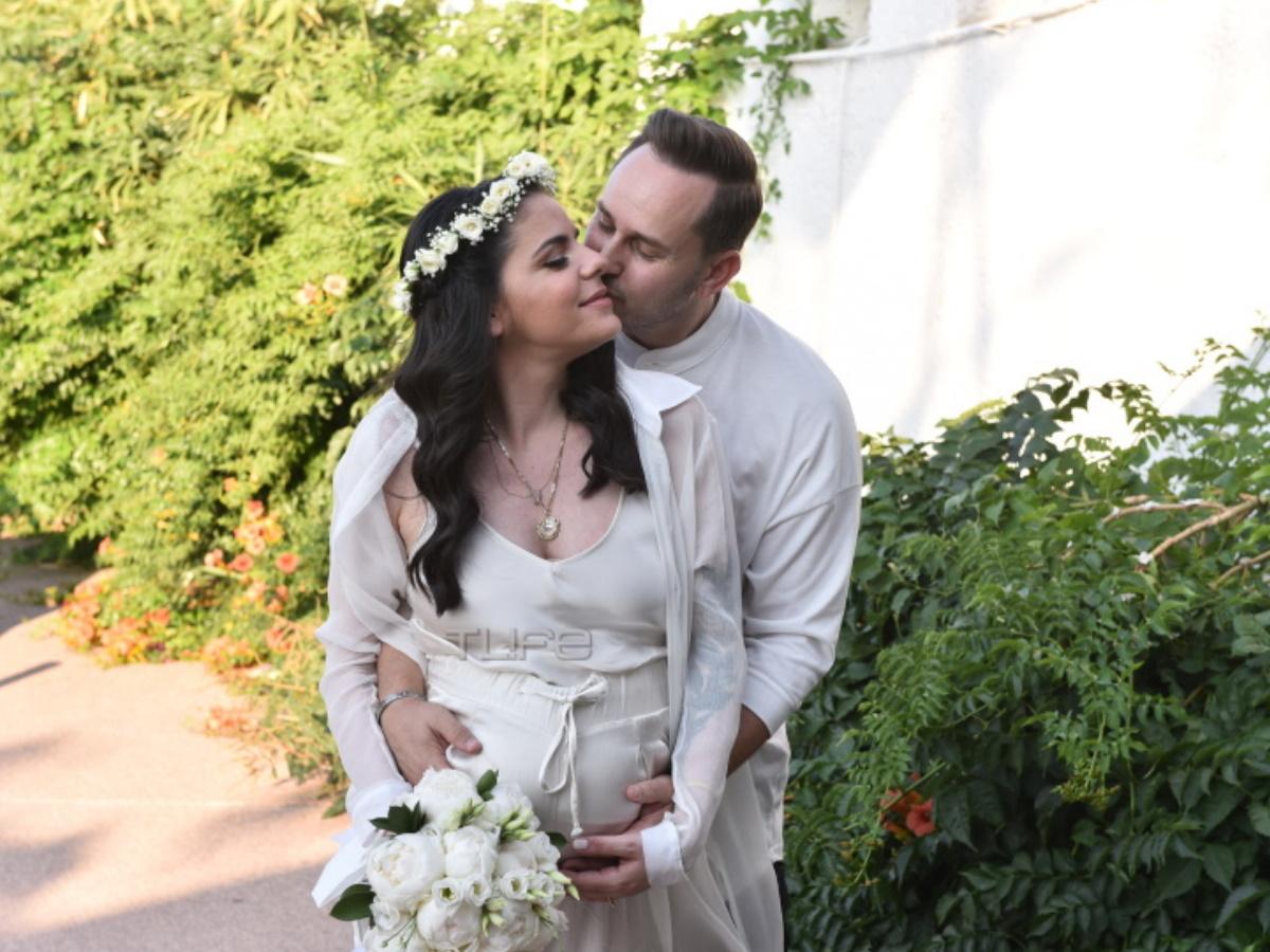 Παντρεύτηκε ο γιος του Βασίλη Λεβέντη, Μάριος Γεωργιάδης με την εγκυμονούσα αγαπημένη του