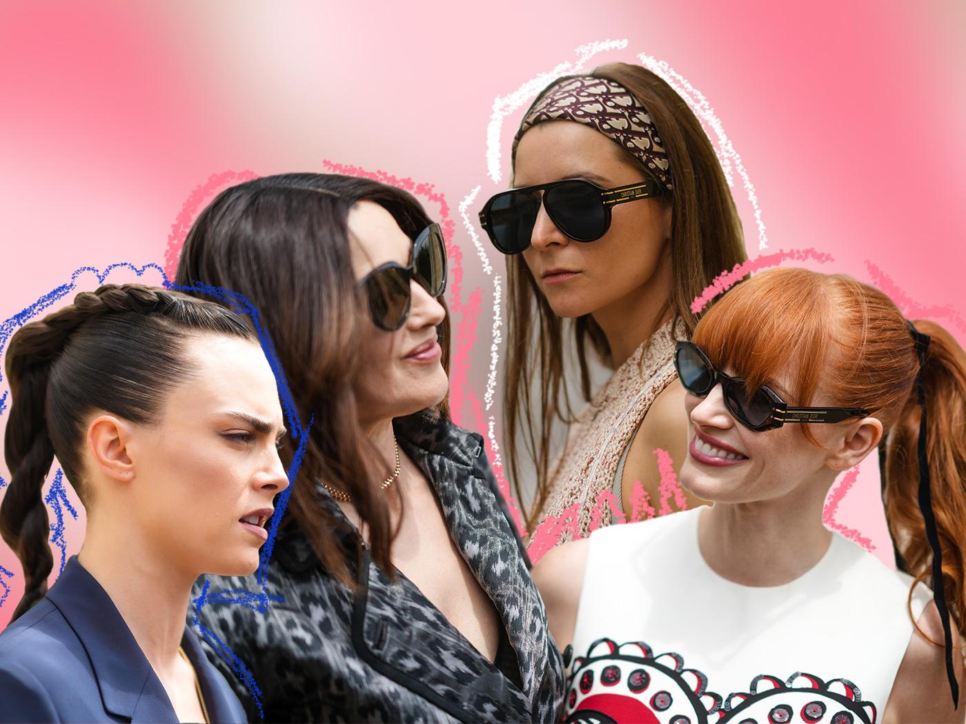 Τα ωραιότερα χτενίσματα που είδαμε από τις καλεσμένες στο couture show του Dior! Πάρε ιδέες!