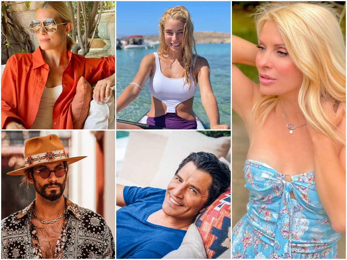 Οι celebrities εξερευνούν την Ελλάδα μαζί με τα παιδιά τους – Οι τρυφερές οικογενειακές φωτογραφίες