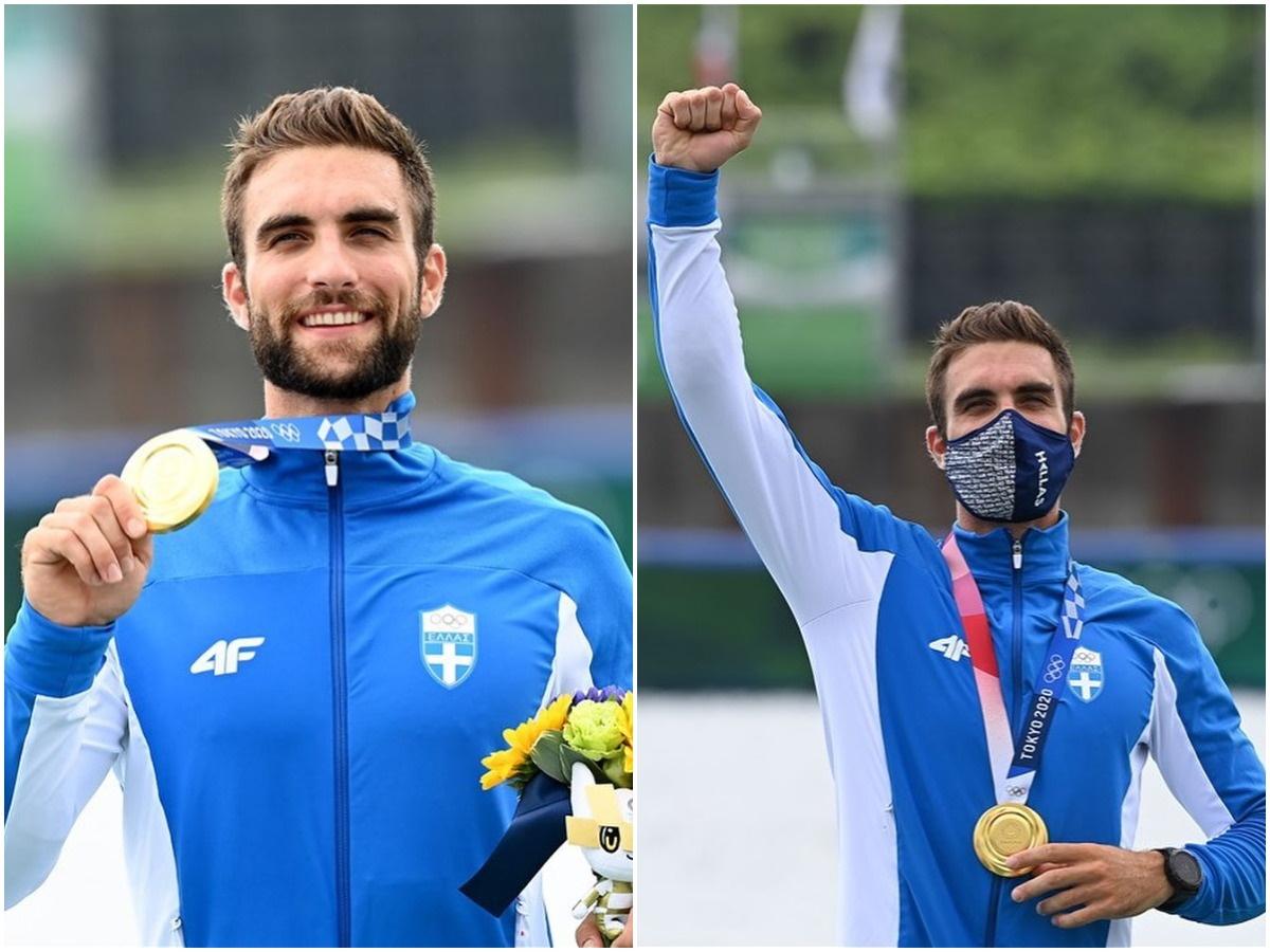 Στέφανος Ντούσκος: Η πρώτη ανάρτηση μετά τo χρυσό μετάλλιο στους Ολυμπιακούς Αγώνες
