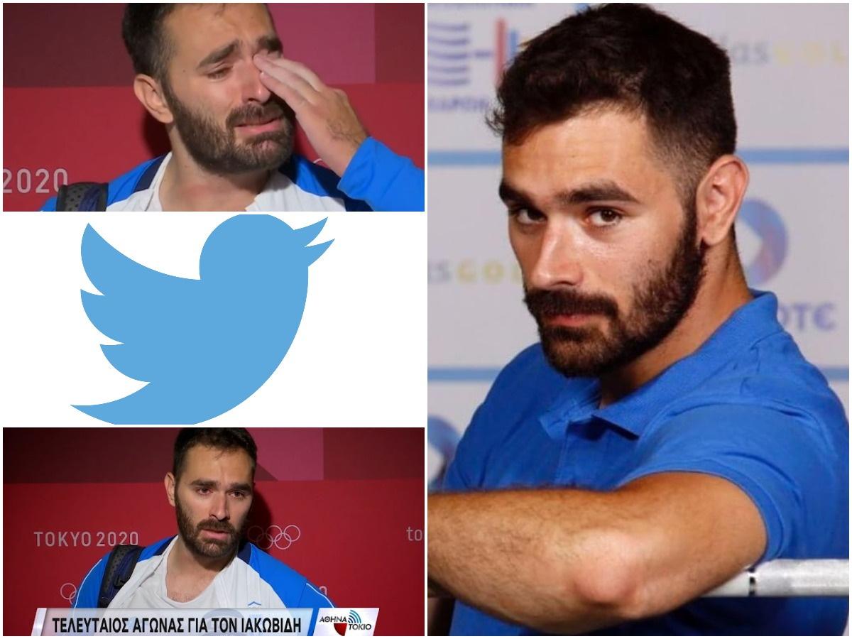 """Θοδωρής Ιακωβίδης: Απίστευτο κύμα συμπαράστασης και στο twitter – """"Βλέπεις τον γίγαντα να κλαίει"""""""