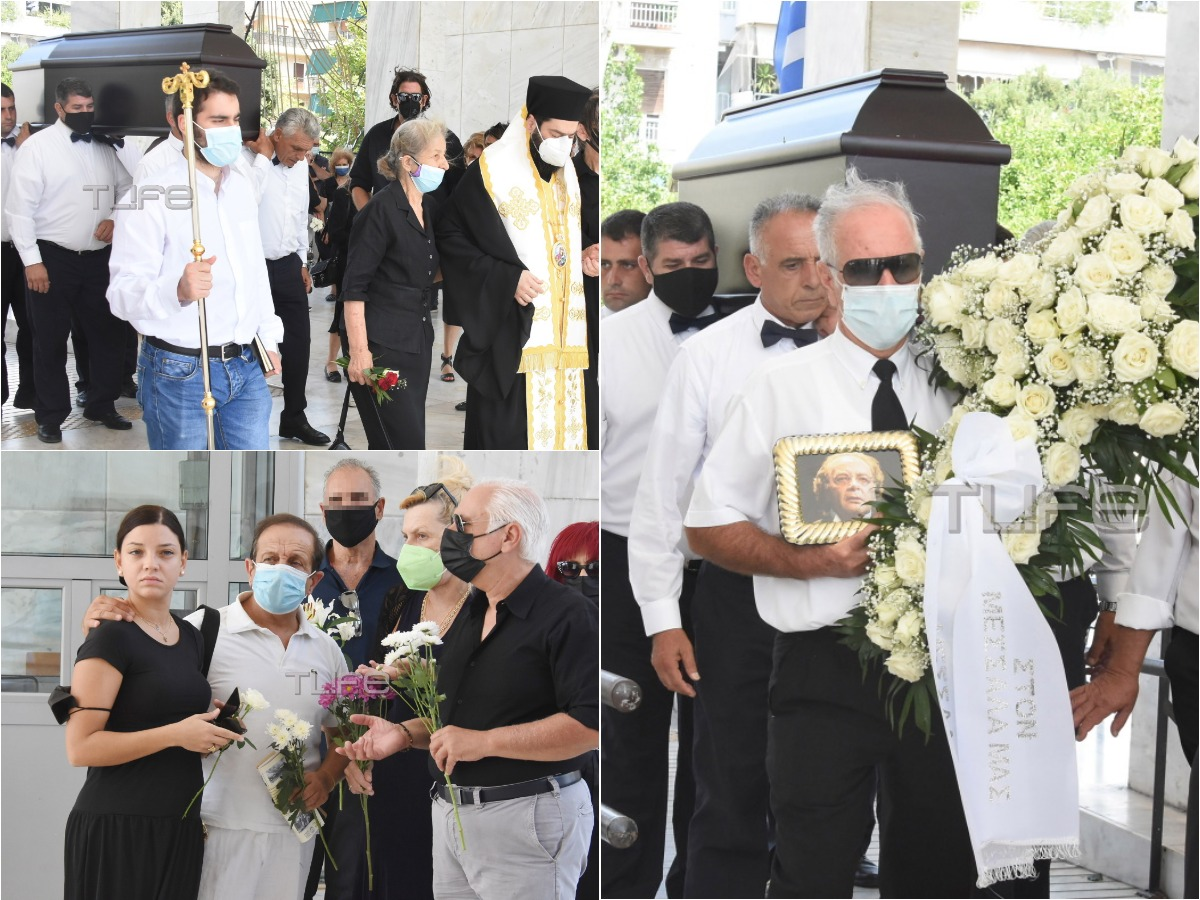 Γιώργος Μεσσάλας: Συγκίνηση και θλίψη στην κηδεία του ηθοποιού