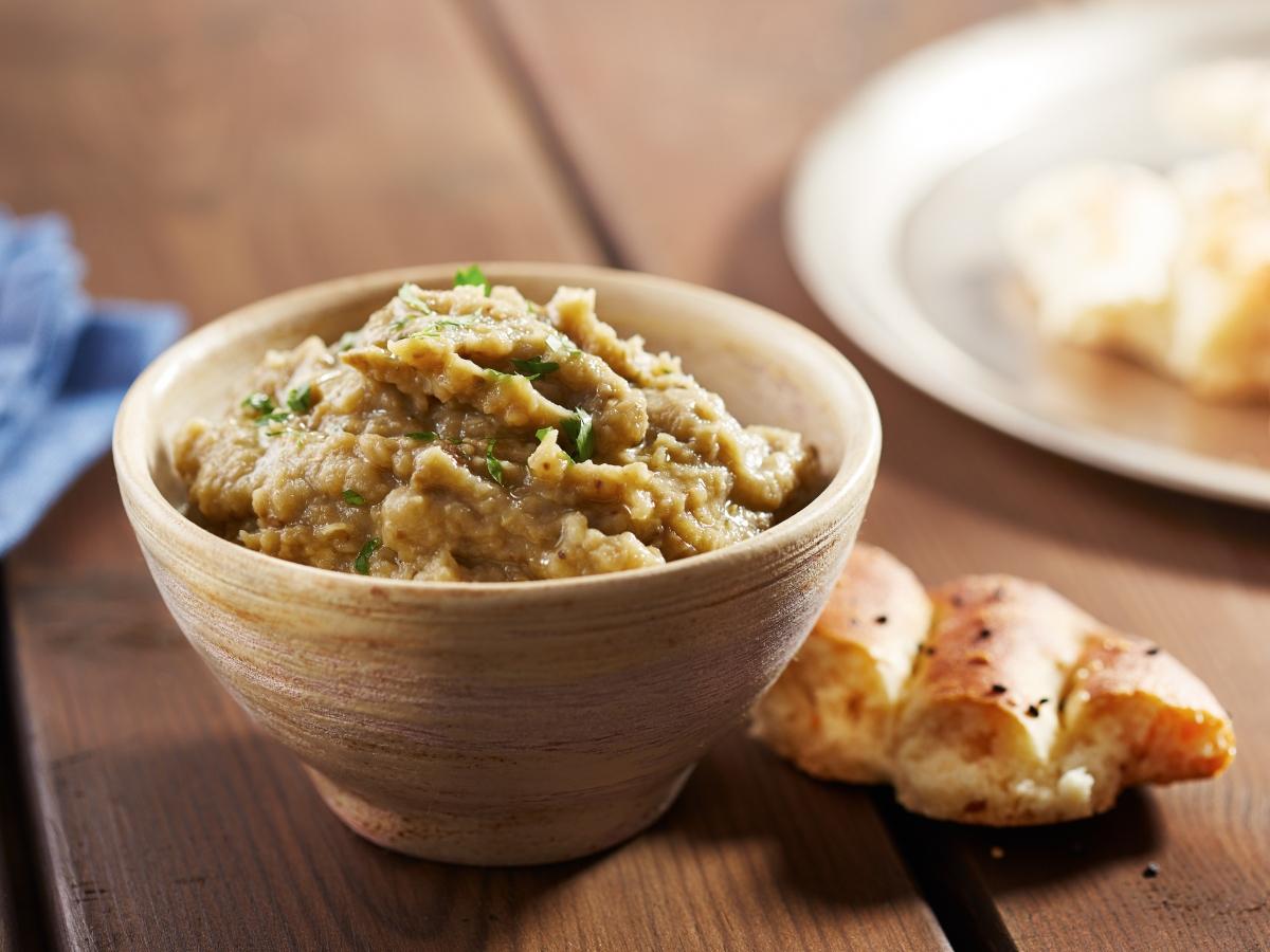 Συνταγή για παραδοσιακή μελιτζανοσαλάτα