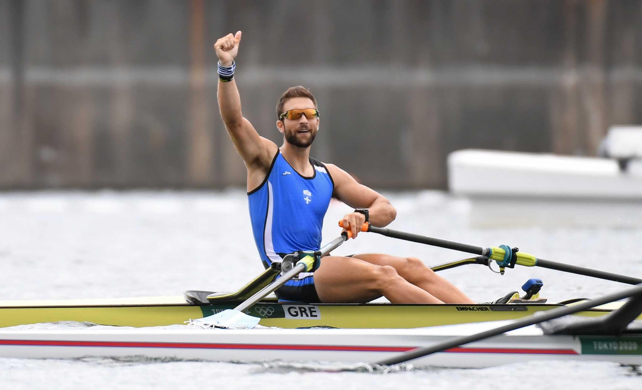 Ο Στέφανος Ντούσκος κατέκτησε το χρυσό μετάλλιο στους Ολυμπιακούς Αγώνες
