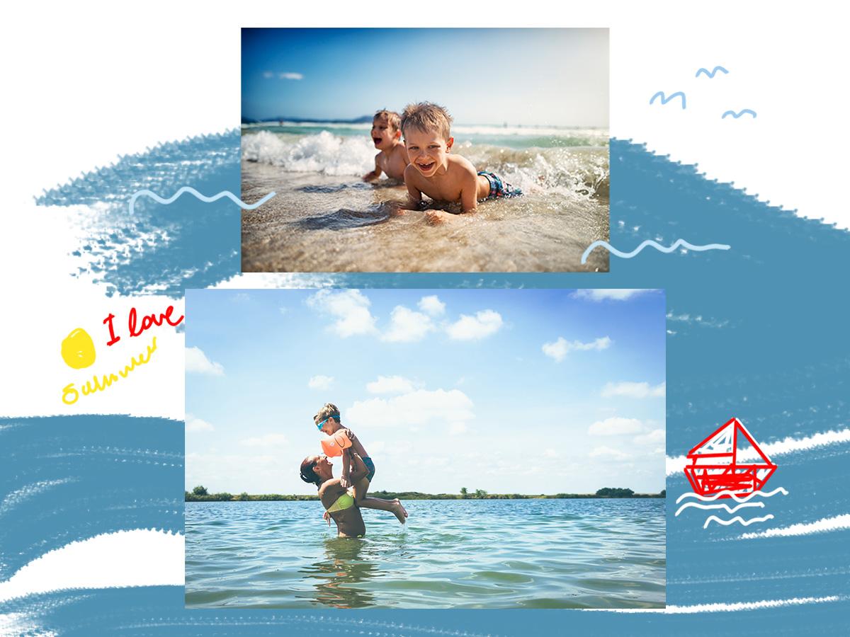 Παιδιά στην παραλία: Οι συμβουλές που θα κάνουν το μπάνιο… παιχνιδάκι