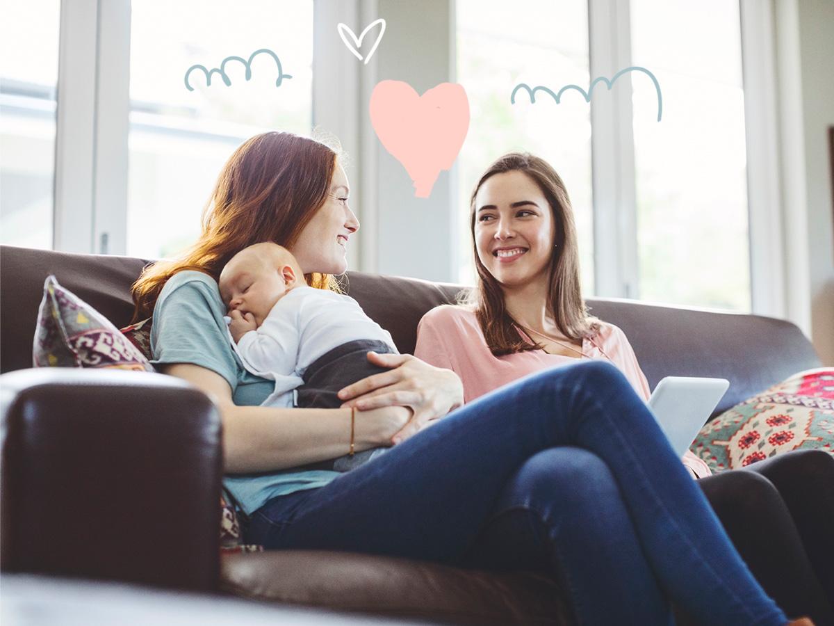 Γέννησε η φίλη σου; 5 κανόνες για την πρώτη επίσκεψη στο σπίτι με το μωρό