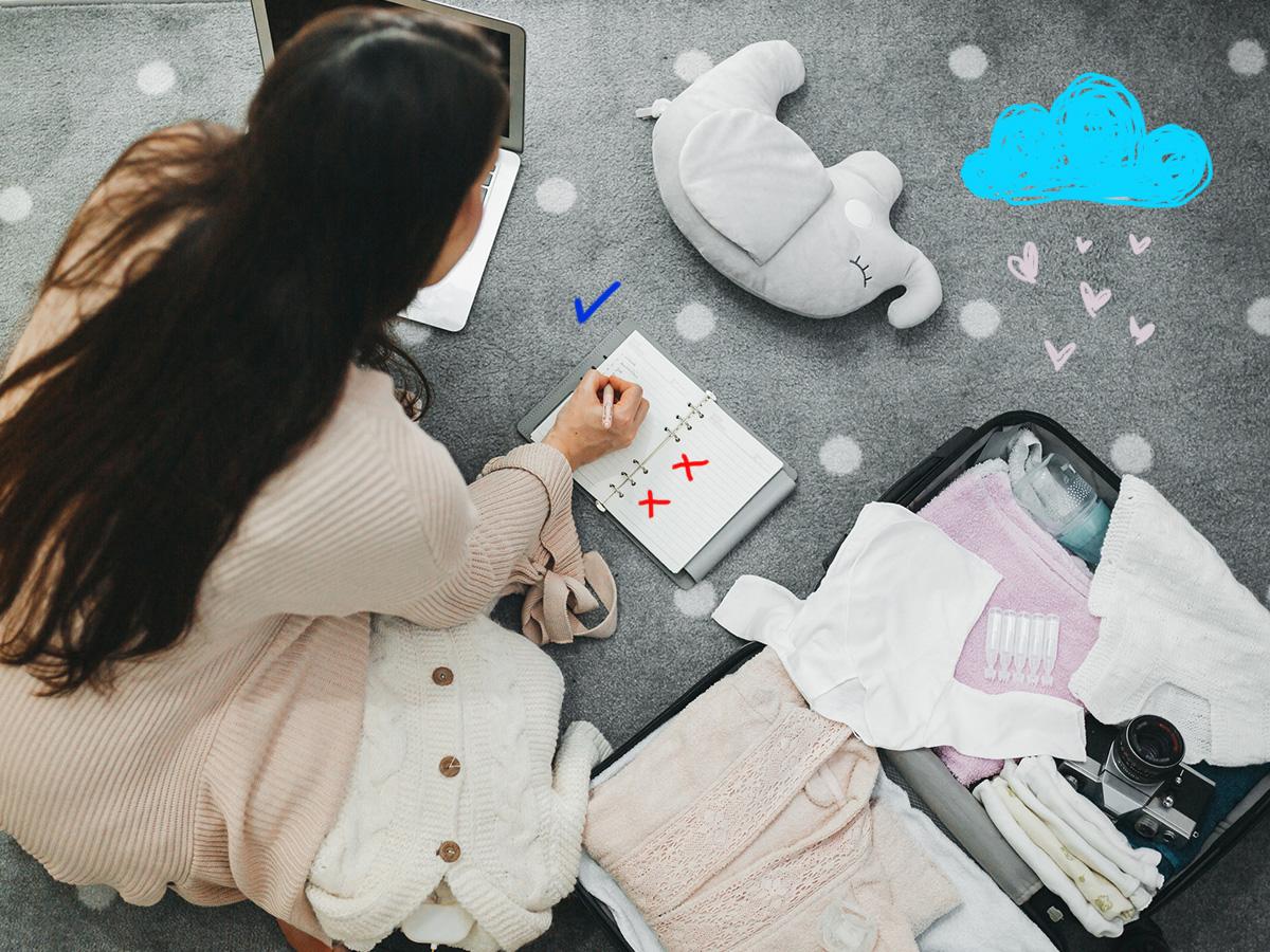 Βαλίτσα του μαιευτηρίου: 5 πράγματα που τελικά δεν χρειάζεται να έχεις