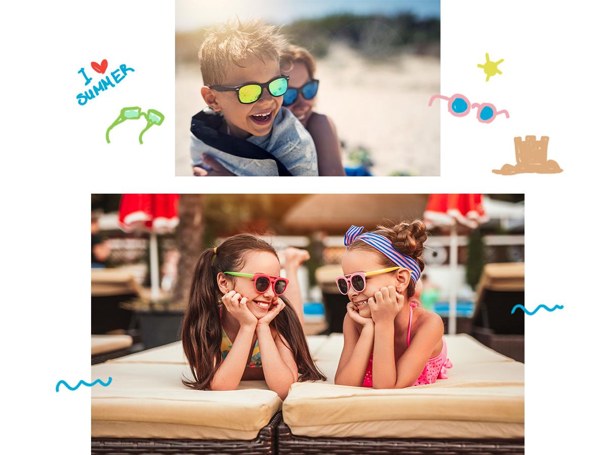 Παιδικά γυαλιά ηλίου: Πώς θα επιλέξεις τα κατάλληλα για το μικρό σου