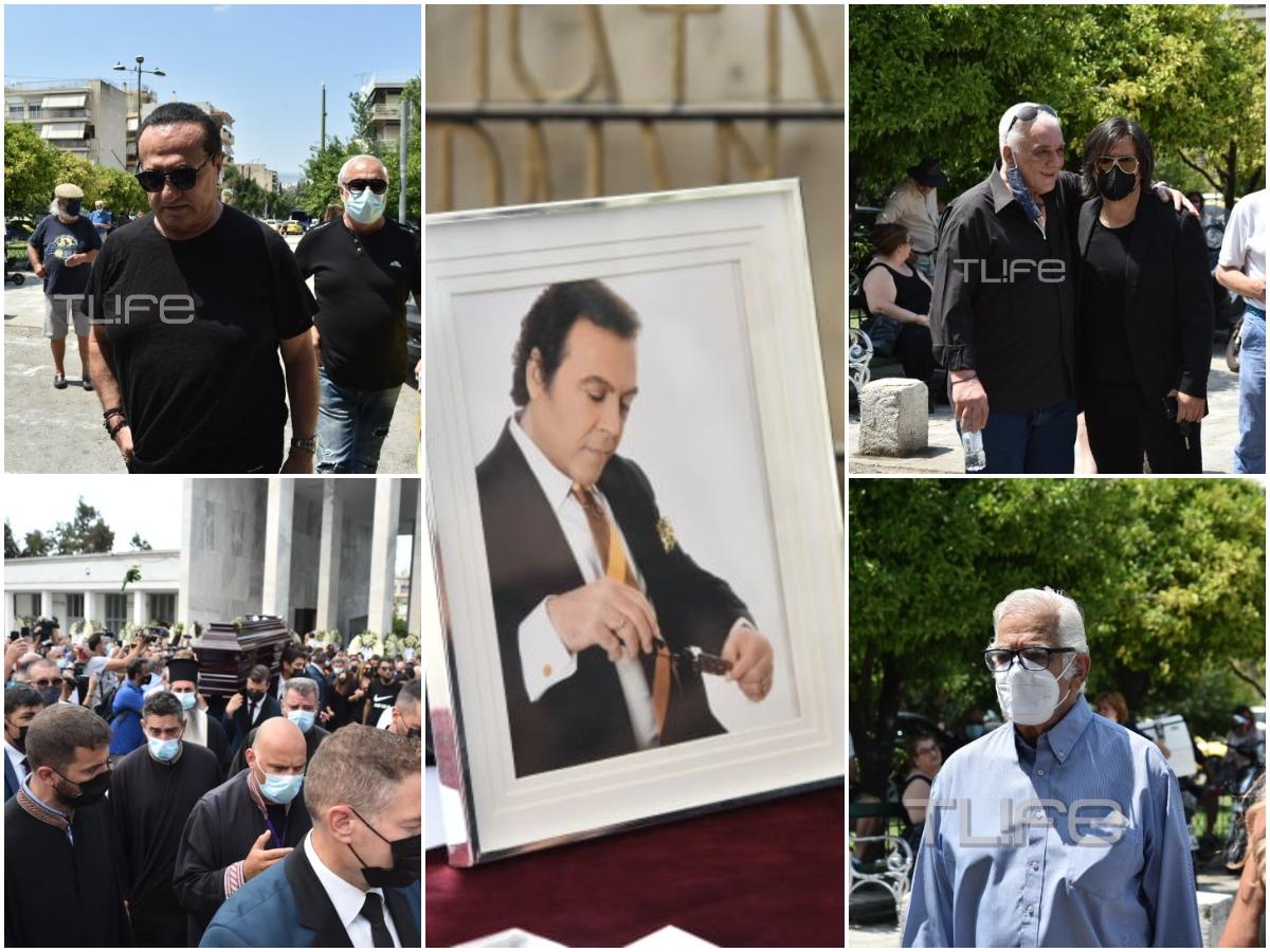 Τόλης Βοσκόπουλος: Πλήθος κόσμου στην κηδεία του τραγουδιστή – Συγκίνηση και τραγούδια