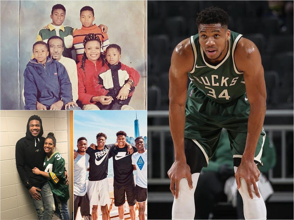 Γιάννης Αντετοκούνμπο: Το αγόρι από τα Σεπόλια που έγινε βασιλιάς του NBA – Οι φωτογραφίες της ζωής του