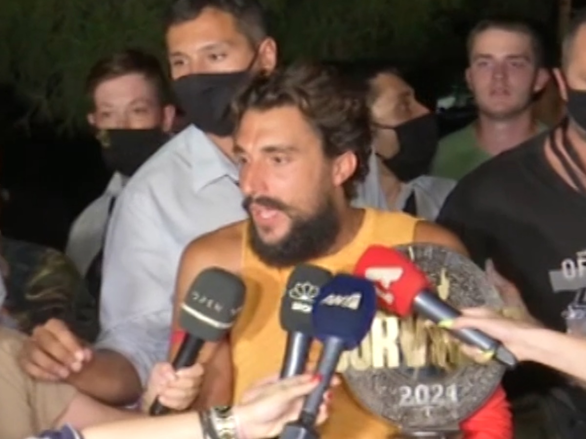 Survivor – Σάκης Κατσούλης: Οι πρώτες δηλώσεις του μεγάλου νικητή στις κάμερες
