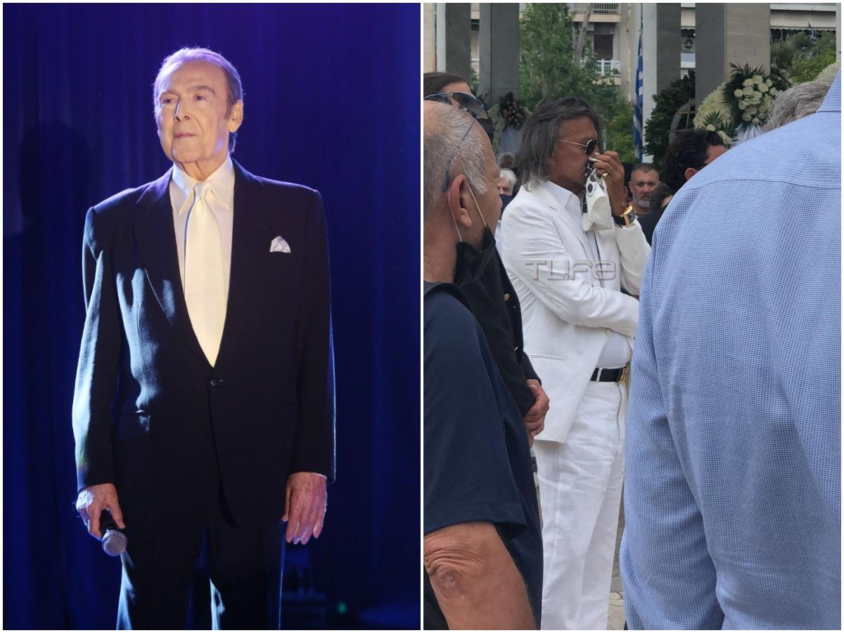 """Κηδεία Τόλη Βοσκόπουλου: Ο Ηλίας Ψινάκης εκπλήρωσε τη """"συμφωνία"""" που είχε κάνει με τον τραγουδιστή"""