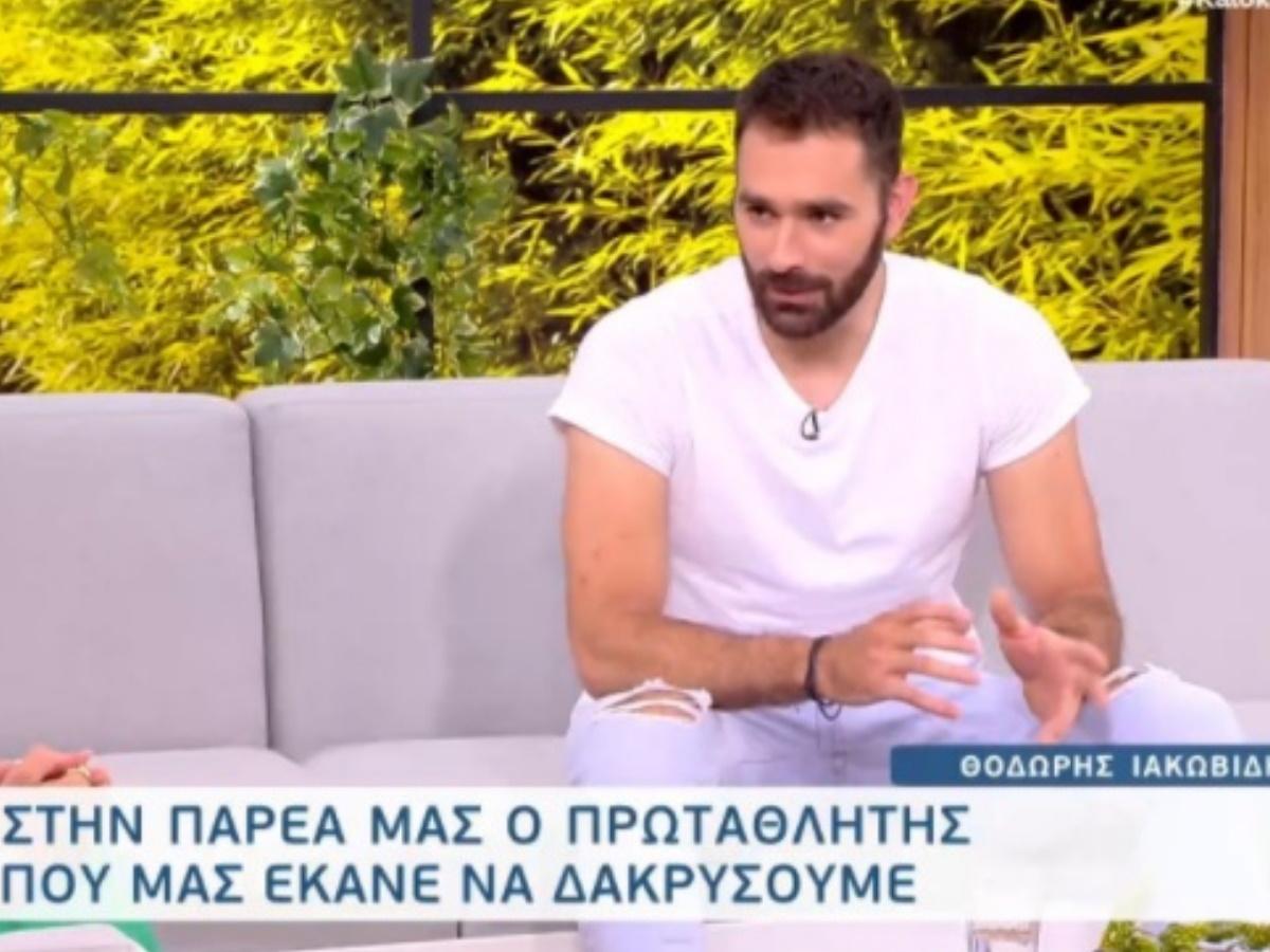 """Θοδωρής Ιακωβίδης: """"Δε ξέρω αν έχω αλλάξει απόφαση, με τι πρόσωπο θα μπω στο γυμναστήριο;"""""""