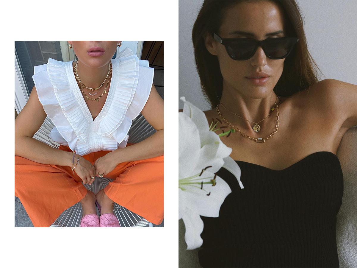 Χρυσά κοσμήματα: Tα σχέδια που φοράς άνετα και στις διακοπές σου