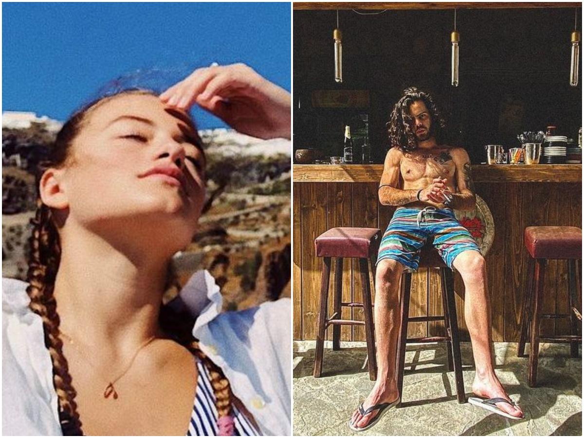 Άγγελος Λάτσιος – Γαία Μερκούρη: Φωτογραφίες από τις κοινές τους διακοπές