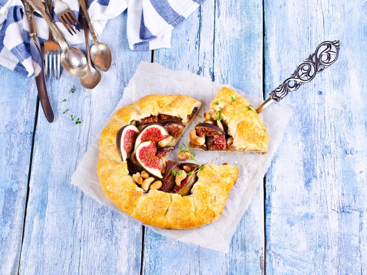 Συνταγή για ανοιχτή πίτα με σύκα