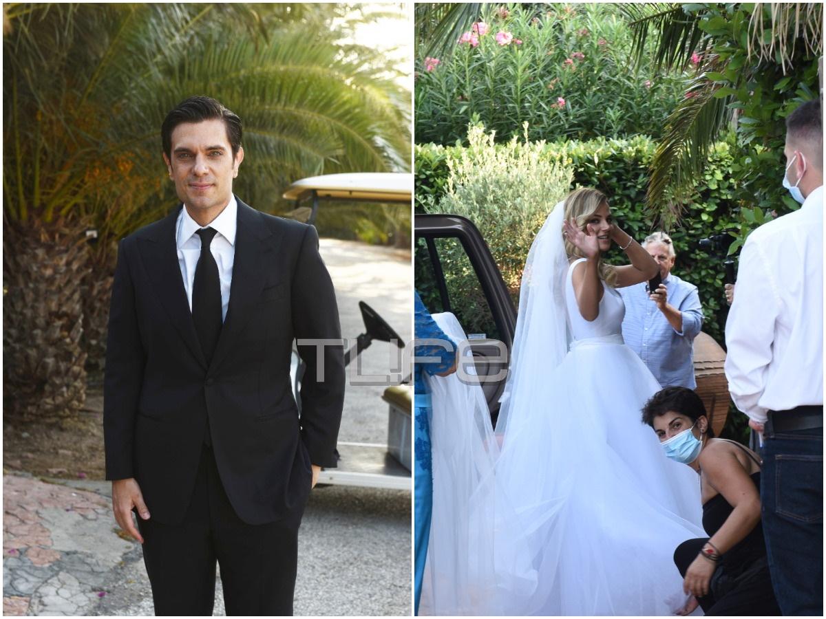 Μύρωνας Στρατής – Κατερίνα Ζαπάρδα: Το TLIFE στον γάμο του ζευγαριού