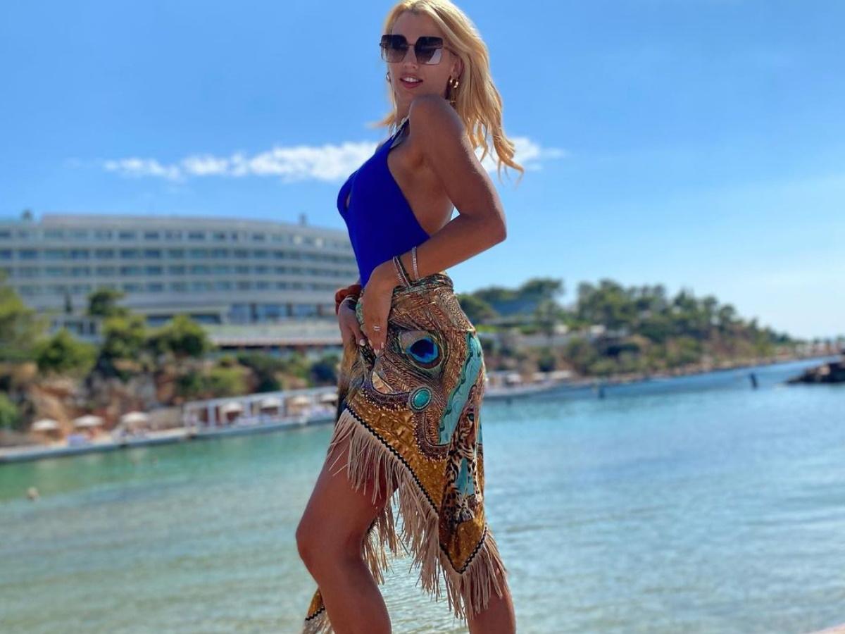 Κωνσταντίνα Σπυροπούλου: Ερωτευμένη στη Νάξο! Οι διακοπές με τον Βασίλη Σταθοκωστόπουλο