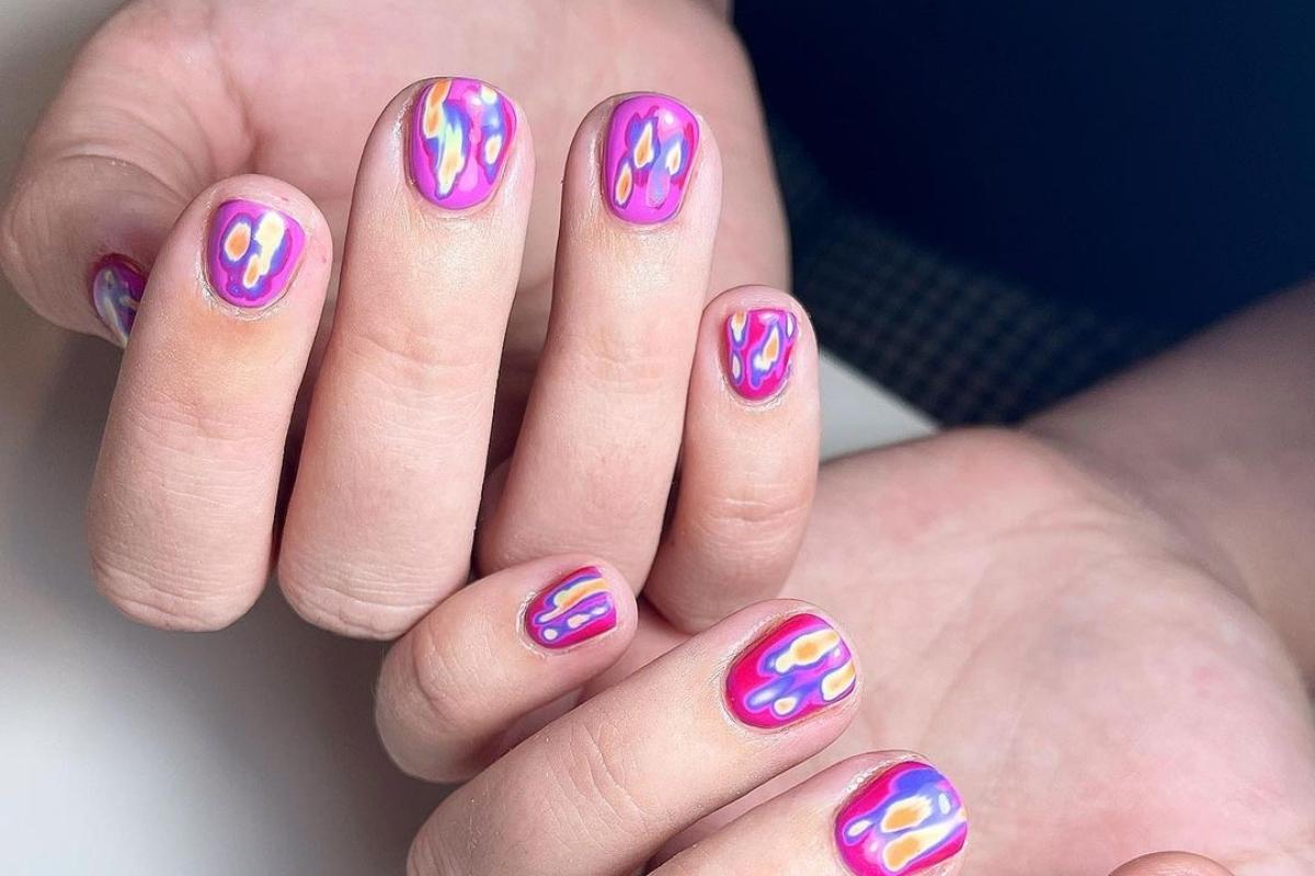 Thermal nails: Είναι το πιο cool και χαρούμενο look της σεζόν