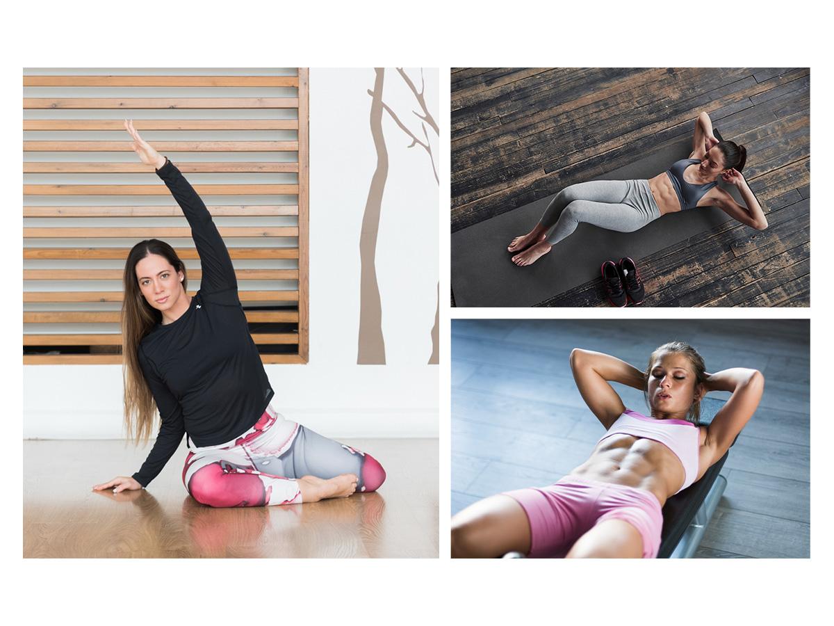 Επίπεδη κοιλιά: Ασκήσεις για τέλειους κοιλιακούς από τη Μάντη Περσάκη