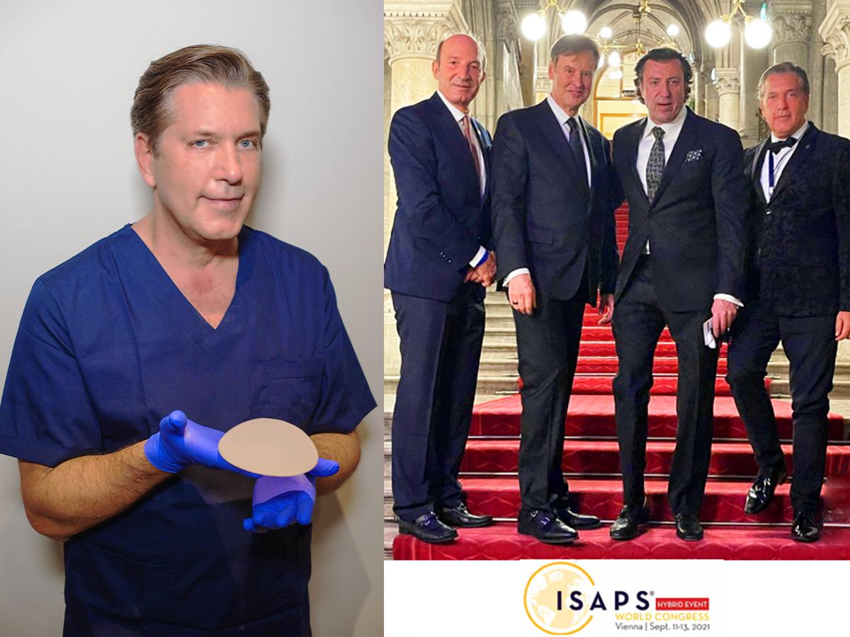 Νέες τεχνικές στην Αυξητική Μαστού από το Παγκόσμιο Συνέδριο Αισθητικής Πλαστικής Χειρουργικής – Βιέννη 2021