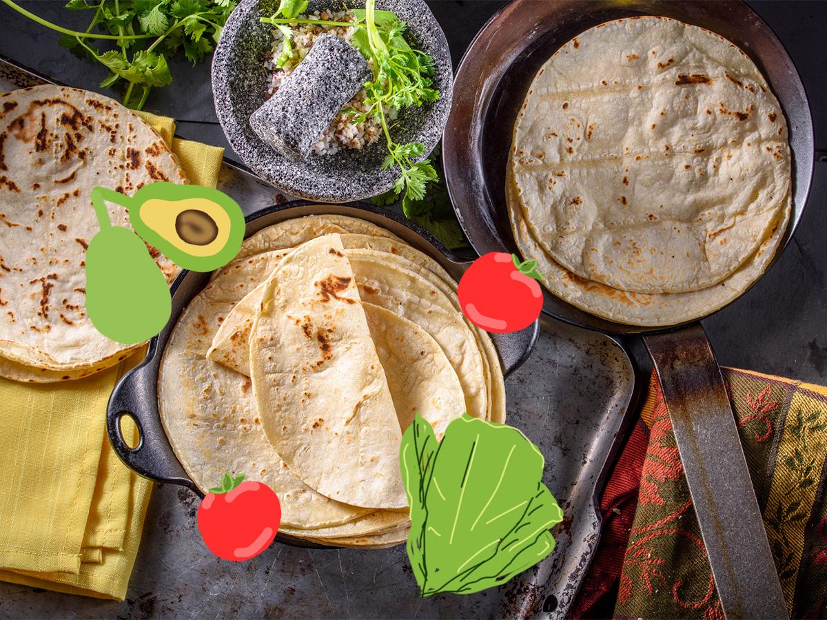 Τορτίγιες: 5 light συνταγές ιδανικές για σνακ ή το γραφείο