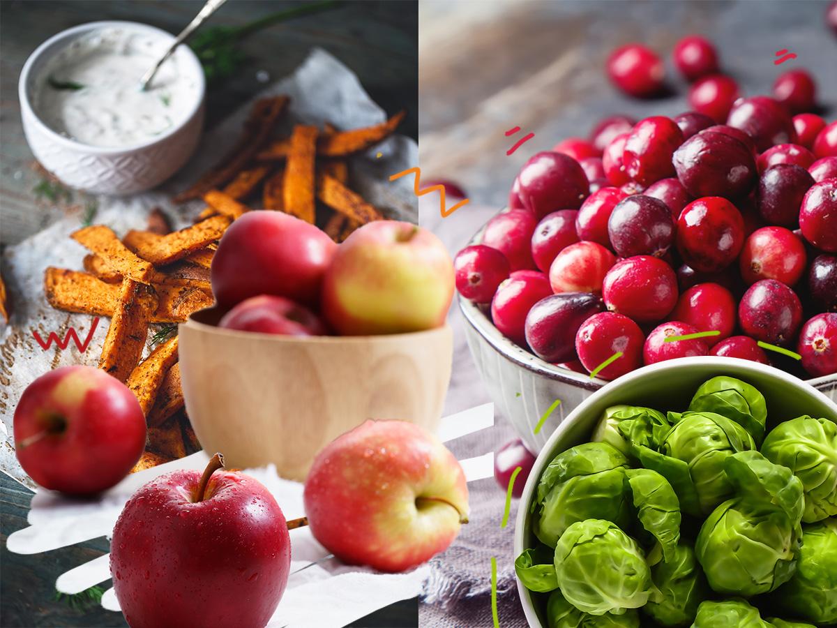 Της εποχής: Τα φρούτα και λαχανικά που φέρνει το Φθινόπωρο