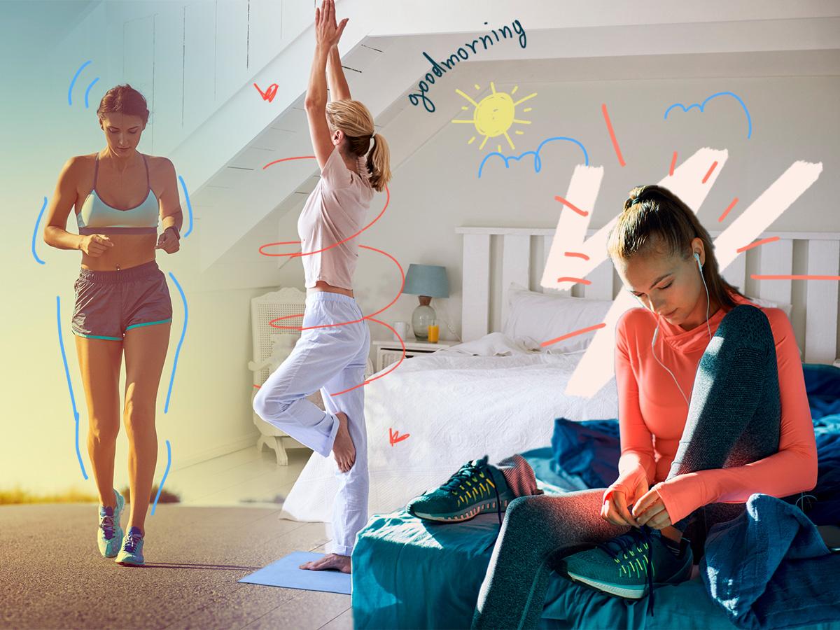 Πρωινή γυμναστική: 5 έξυπνα tips για να μην τα παρατήσεις